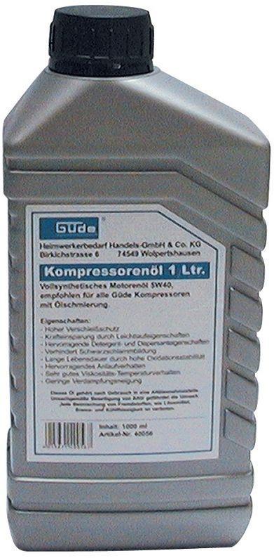 kompressor olie